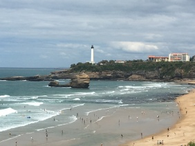 Lighthouse in Biarritz